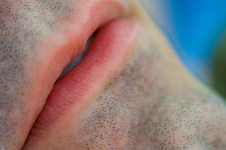 Adam's lips