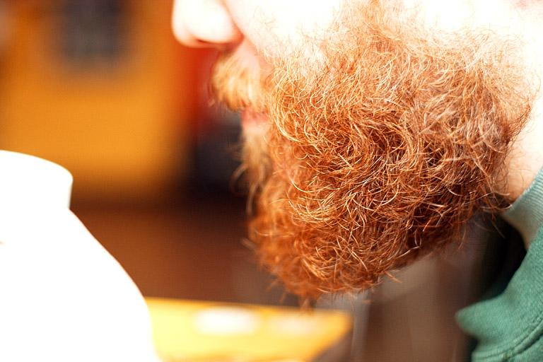 Mitchell's beard
